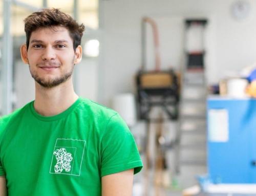 Voluntarul lunii- Bogdan Breazu